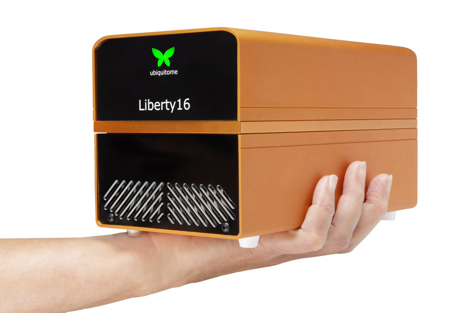 Liberty16 personal genomics device