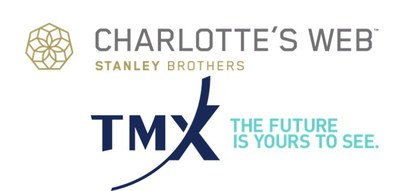 Charlotte's Web TSX;CWEB trading on the Toronto Stock Exchange (CNW Group/Charlotte's Web Holdings, Inc.)