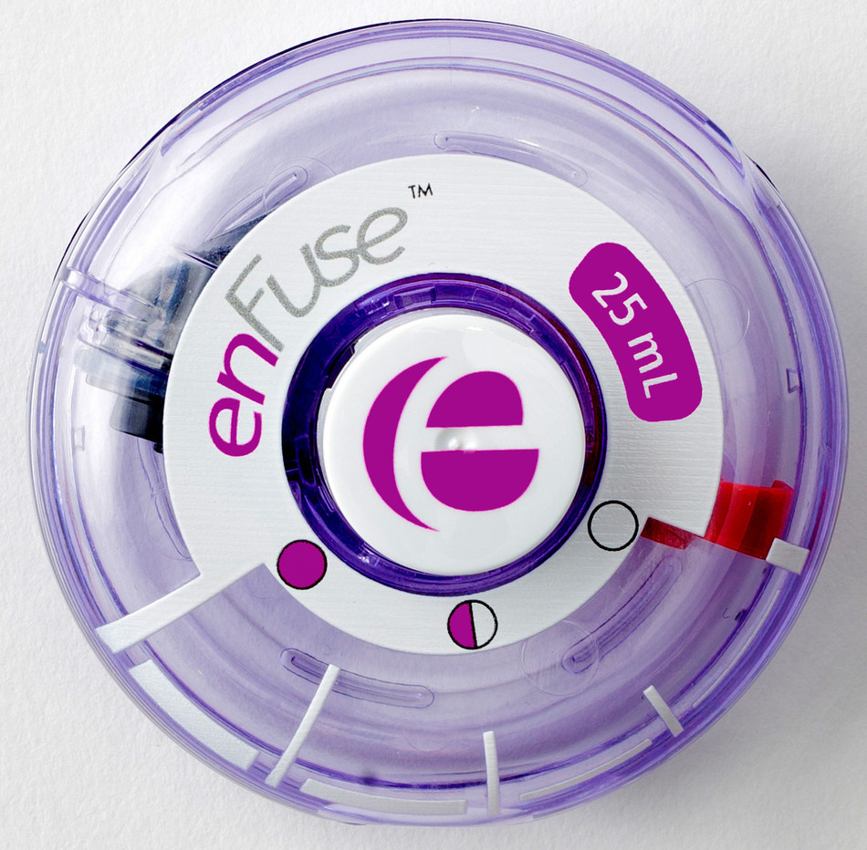 enFuse™, an innovative on-body infusor
