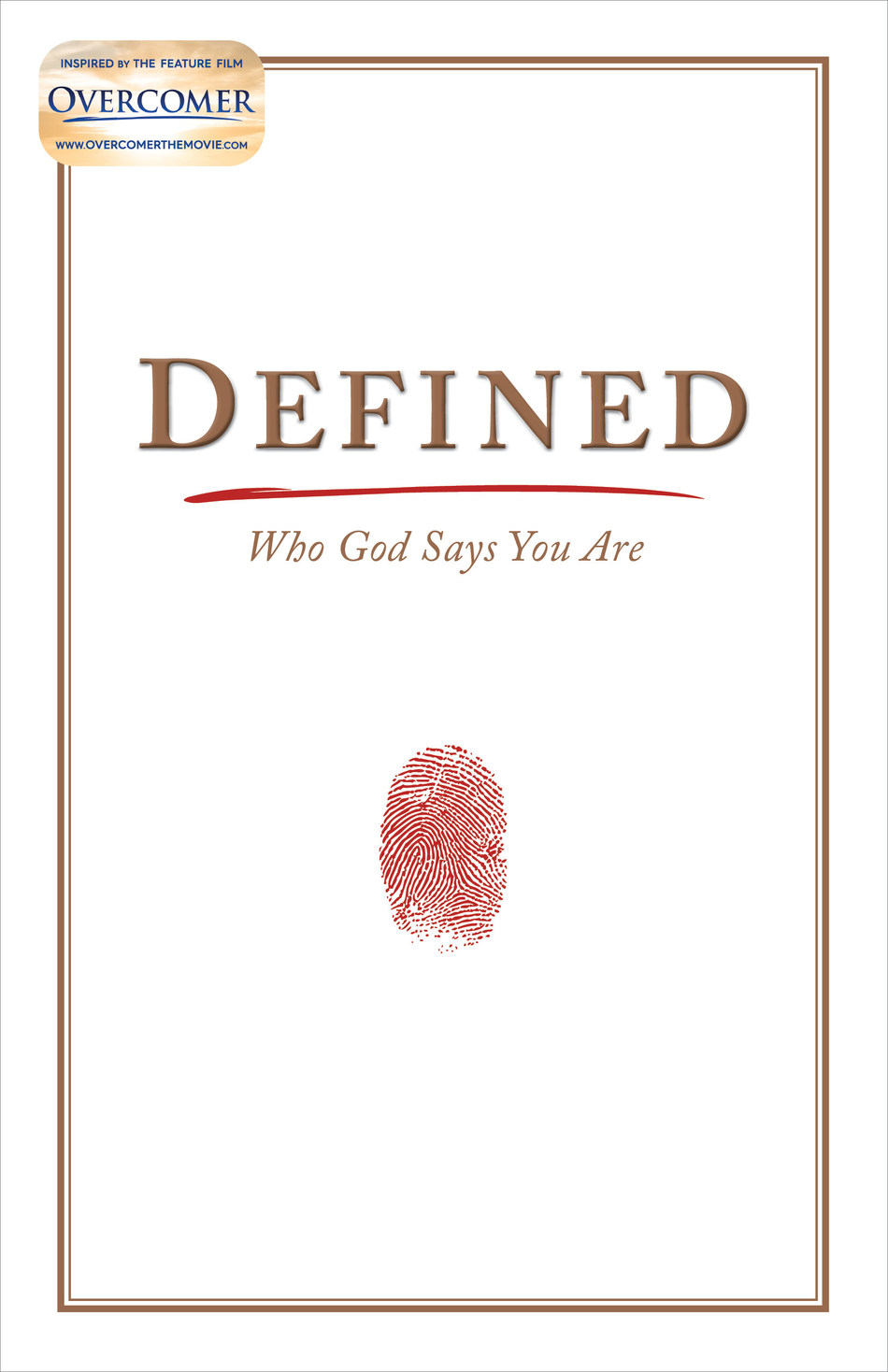 """""""Defined"""" and other Overcomer resources are available to pre-order at LifeWay.com and anywhere books are sold."""