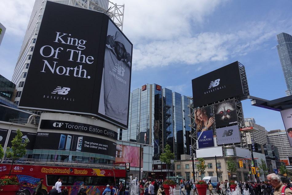 New Balance to dub Torontonians with a custom crown to honour Kawhi Leonard (CNW Group/New Balance)