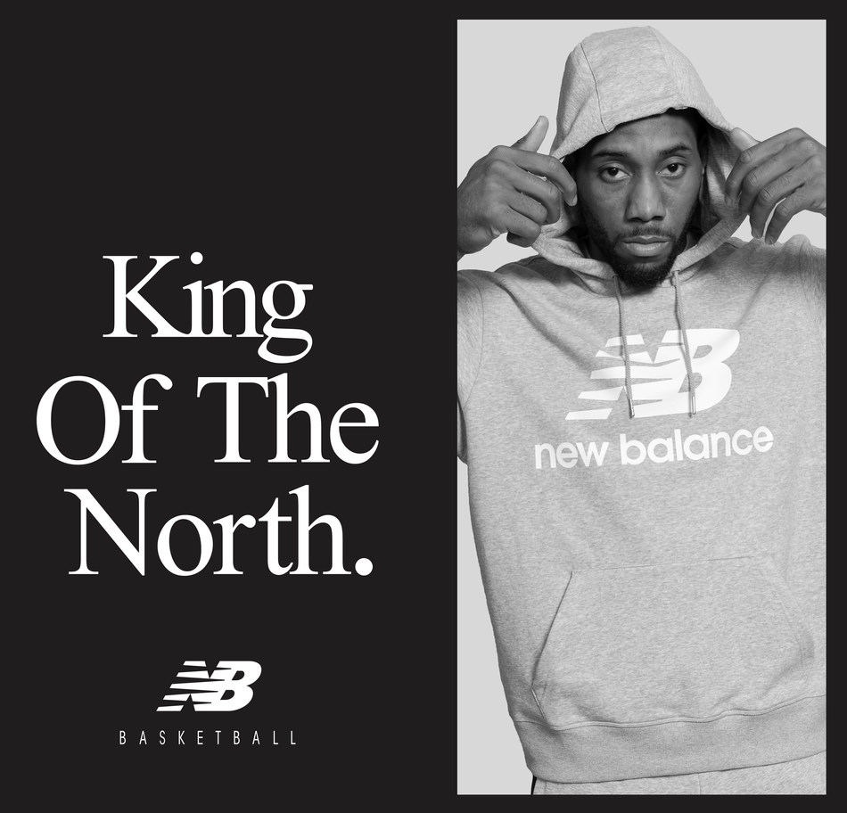 New Balance will be re-releasing Fun Guy apparel including tee shirts and hoodies emblazoned with Kawhi's now signature tagline. (CNW Group/New Balance)