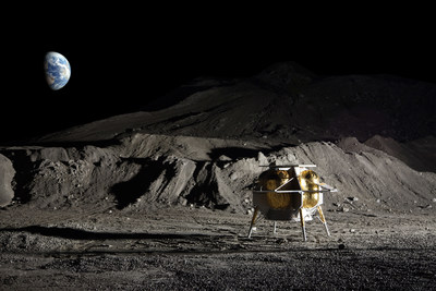 Astrobotic's Peregrine lunar lander (pictured here) will carry payloads to the Moon for NASA through the Commercial Lunar Payload Services program.
