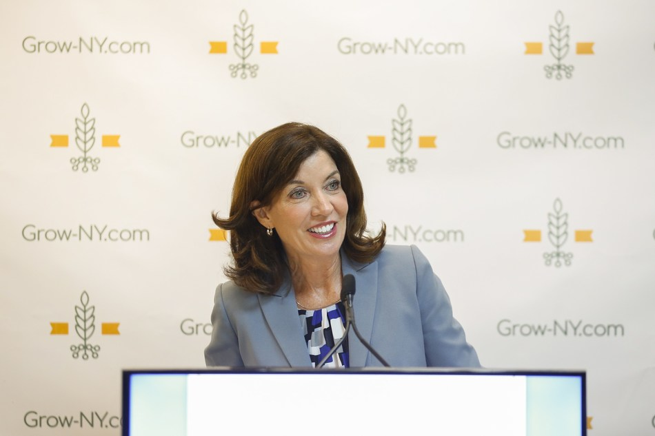 Lieutenant Governor Kathy Hochul announced the official launch of Grow-NY, a food innovation and agriculture technology business challenge.
