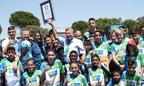 Le Football pour l'Amitié établit un nouveau record mondial : la plupart des nationalités participent aux sessions d'entraînement de football