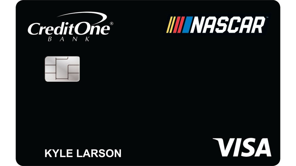 Credit One Bank, Official Credit Card of NASCAR