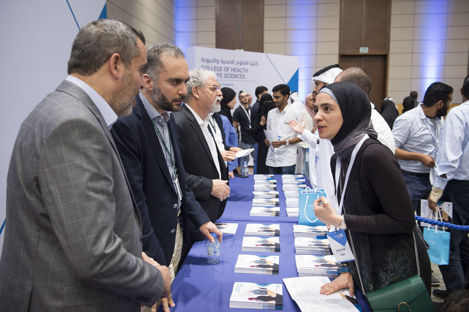 The inaugural event witnessed the launch of eight degrees across six colleges at Hamad Bin Khalifa University.