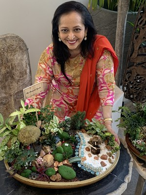"""Dr. Swati Piramal, Vice Chairperson, Piramal Enterprises Ltd. Unveils """"Fairy Gardens"""" for children of all ages at Piramal Mahalaxmi, designed around the Biophillia philosophy and inspired with the concept of 'Back to Nature - A space to grow' in building family bonds which is vitally important for positive childhood development"""
