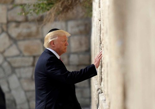 THANK YOU PRESIDENT DONALD TRUMP (PRNewsfoto/Friends of Zion Museum)