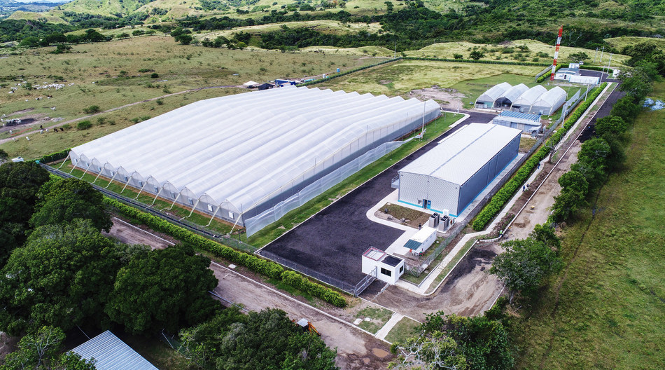 Completed cultivation, extraction and analysis facility operated by Khiron Life Sciences in Ibague, Colombia (CNW Group/Khiron Life Sciences Corp.)