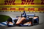 Dixon y Ericsson alcanzan el 1-2 para Honda en Detroit