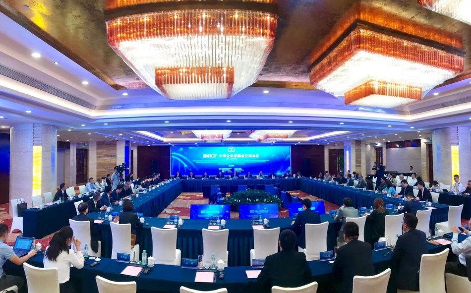China and India held a round table during the International Medical Innovation and Cooperation Forum. Photograph by Tang Yingqian