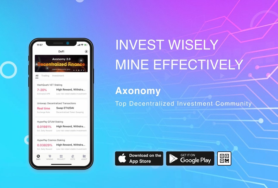 Axonomy 2.0 Launches with DeFi Products and Effective Behavorial Mining
