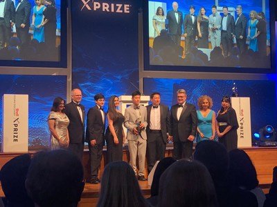 The Ocean Quest Team from Valley Christian Schools, San Jose received the top award in the Bonus Prize Round of Global Shell Ocean Discovery XPRIZE Competition.  The student-led team received $800,000 of the One Million Dollars awarded in Monaco.