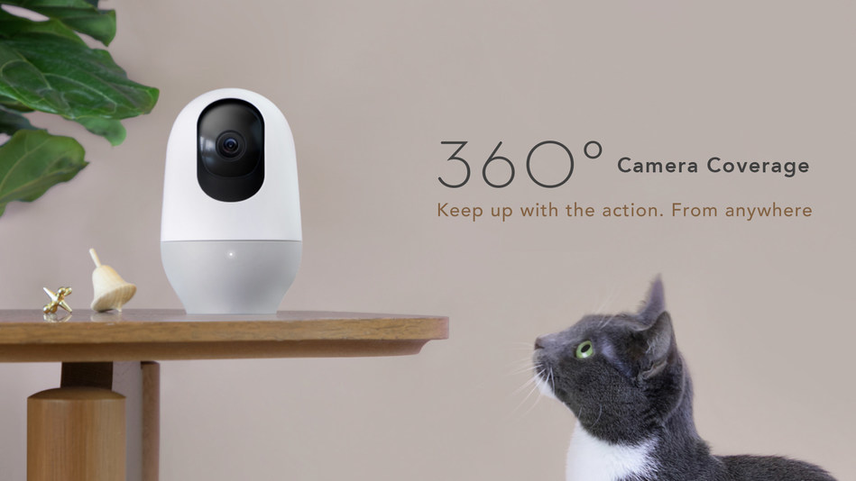 Nooie Cam 360 - Keep up with the action from anywhere