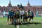 Programa social de crianças da Gazprom International, Futebol para a Amizade, ganha título GUINNESS WORLD RECORDS®