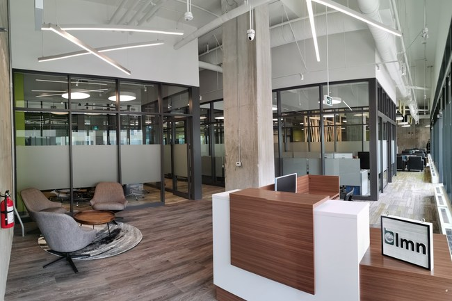 LMN's newly designed headquarters in Markham, Ontario reflect a dynamic team culture