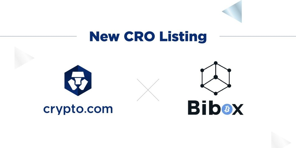 Crypto.com Chain's CRO Token to be Listed on Bibox