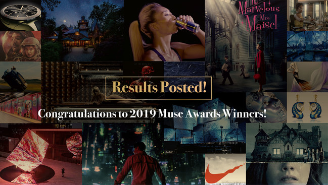 The 2019 Muse Awards Celebrate Winners Netflix, FOX Networks Group, Walt Disney, Warner Brothers, BBC News, Nike, Audi, Ford, Jaguar, AIA, Longines, Nu Skin, Dell, Red Bull, Coca Cola and Carlsberg.