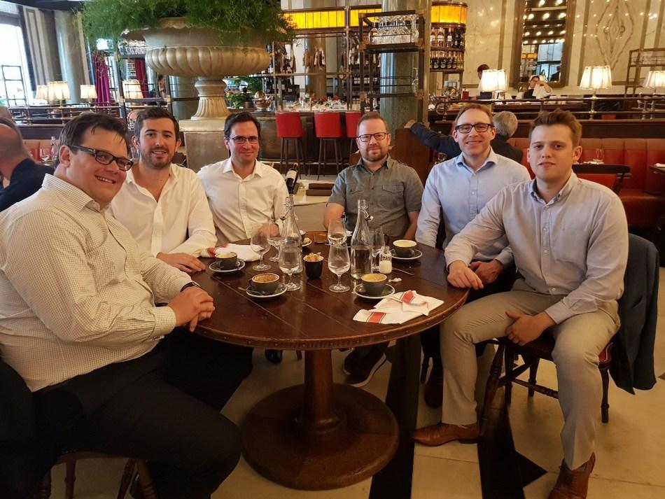 TokenMarket and CMS finalise start-up financing agreement in Holborn, London (PRNewsfoto/TokenMarket)