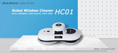 Robot limpiador de ventanas Duubee HC01 (PRNewsfoto/Duubee)