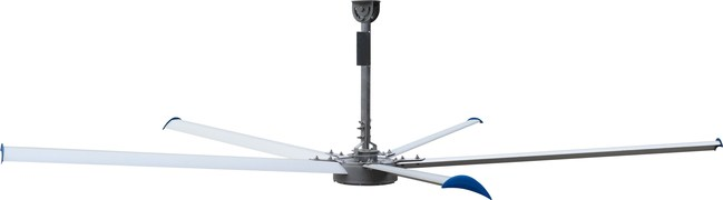 Patterson's Gearless, Maintenance-Free Industrial Ceiling Fan