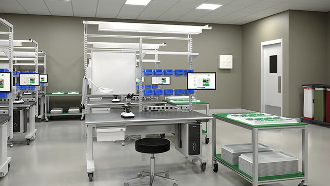 BOSTONtec ergonomic workstations can be found in clean rooms across the country.