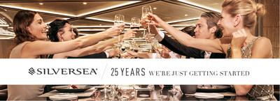 Silversea Cruises' 25th Anniversary