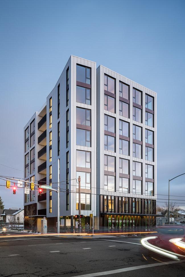Carbon12 Exterior, Portland, OR