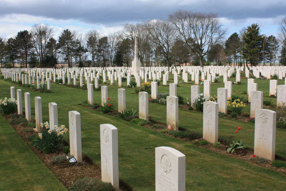 Beny-sur-Mer War Cemetery in Normandy (CNW Group/Commonwealth War Graves Commission)
