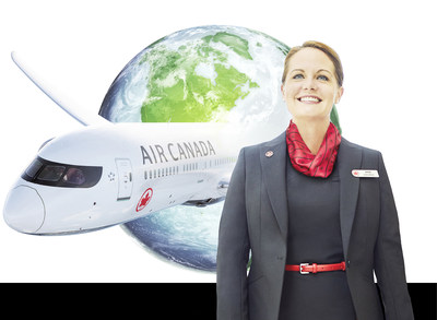 Air Canada Demonstrates Commitment to Social Responsibility with release of its 2018 Corporate Sustainability Report (CNW Group/Air Canada)