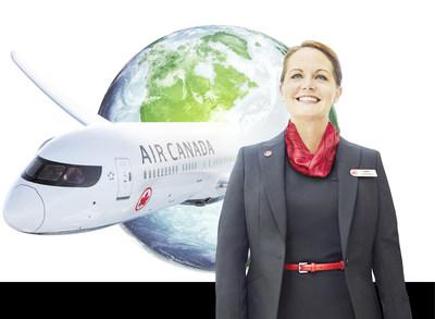 Air Canada démontre son engagement à l'égard de la responsabilité sociale en publiant son rapport de développement durable de 2018 (Groupe CNW/Air Canada)