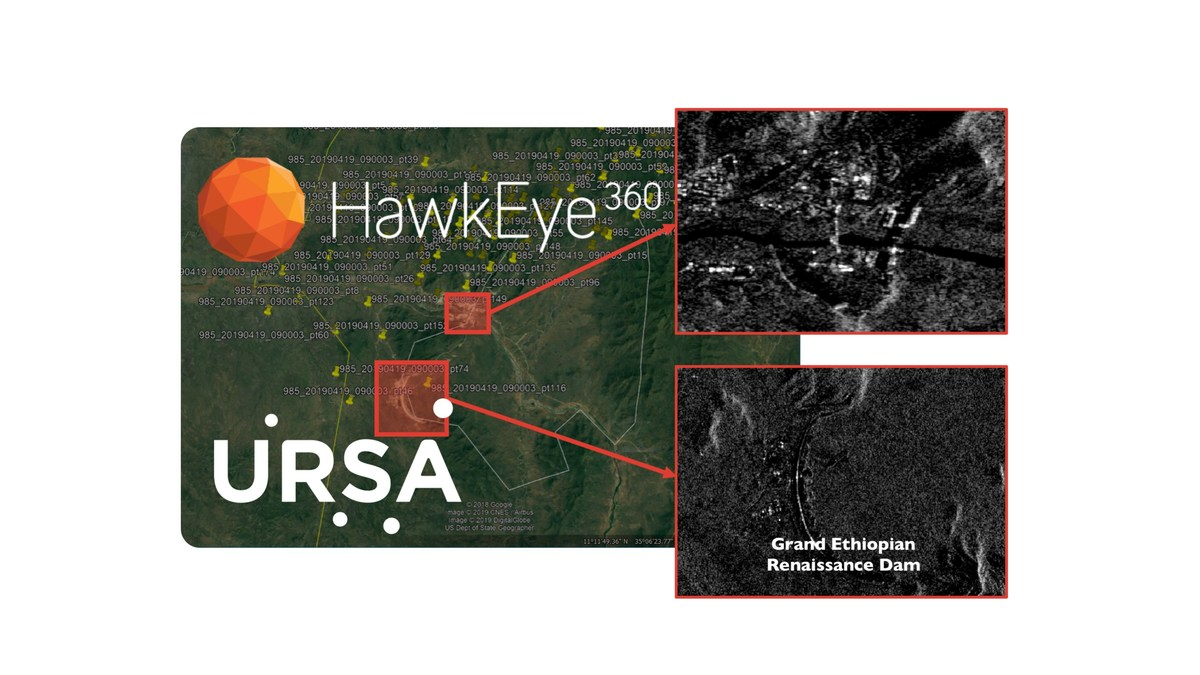Ursa and HawkEye 360 Join Forces to Develop Geospatial Information