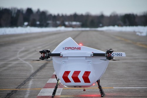 Drone Delivery Canada (Groupe CNW/Air Canada)