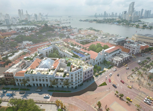 Four Seasons Hotels and Resorts and San Francisco Investments to Revitalise Three Iconic Architectural Gems in the Historic Heart of Cartagena