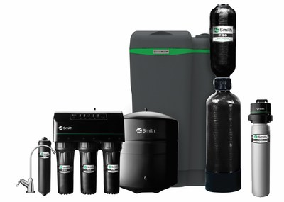 The new A. O. Smith PRO water treatment line, a line of residential water treatment products available exclusively to the wholesale channel.