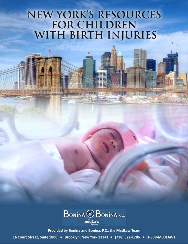 Bonina & Bonina, P.C., a Brooklyn personal injury law firm with more than 55 years of experience helping injured New Yorkers, has released a free eBook for caregivers raising children with special needs.