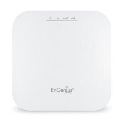 EWS377AP 802.11ax 4x4 Managed Indoor Wireless Access Point deepens and extends the capabilities of Wi-Fi and harnesses EnGenius enterprise-level management and AP features for use in high-capacity environments.