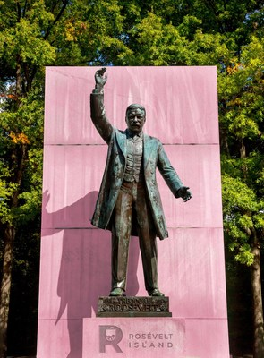 Theodore Roosevelt Island, Washington, D.C.: Why should FDR get all the glory?