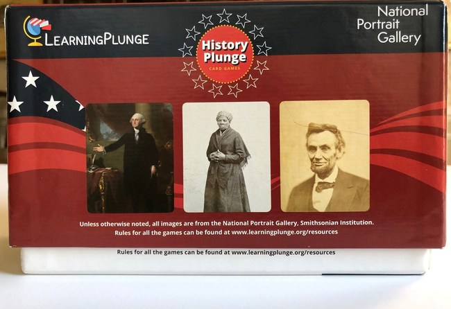 HistoryPlunge, a new educational game produced by LearningPlunge and the Smithsonian's National Portrait Gallery.  Photos by Robin Hayutin/Courtesy of LearningPlunge.