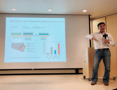 Yi Cui, Professor, Material Science and Engineering, Stanford, at SEED AWARD Global University tour