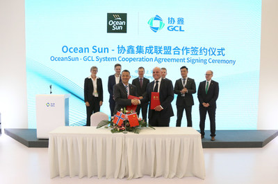 Ocean Sun - GCL System Cooperation Agreement Signing Ceremony