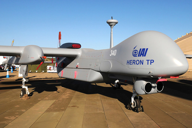 """IAI Places US$1.8 Million Order for Orbit's Airborne Audio Solution for Its """"Heron TP"""" UAV"""