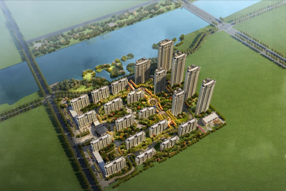 Century Bridge Exits Xuzhou China Residential Development