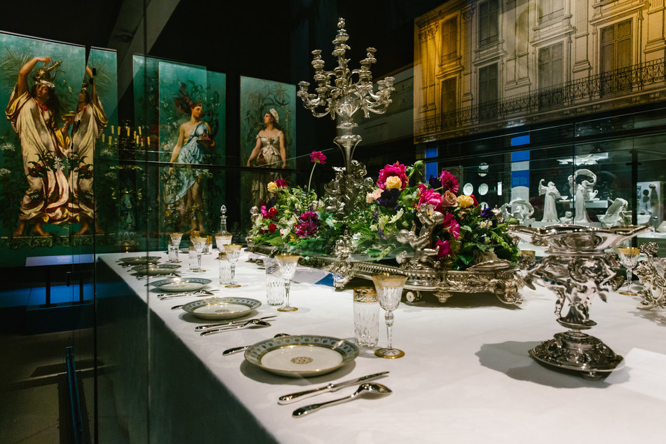 Dinner is served! The Story of French Cuisine, a delicious new exhibition that's a feast for the eyes at Pointe-à-Callière until October 13, 2019! (CNW Group/Pointe-à-Callière, Montreal Museum of Archaelogy and History)