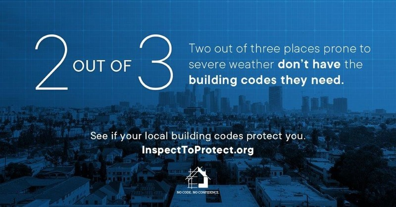 Find your building code at InspectToProtect.org