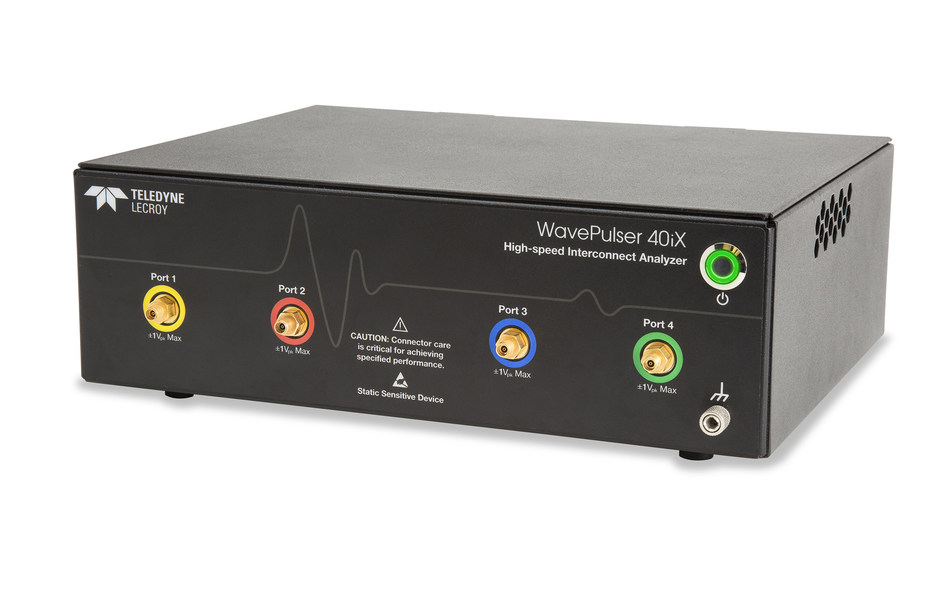 WavePulser 40iX High-Speed Interconnect Analyzer Delivers Unmatched Characterization Insight. Reveals time- and frequency-domain details in a single acquisition.