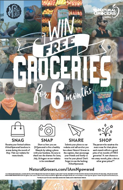 Natural Grocers kicks off 3-month {N}power® social media photo contest