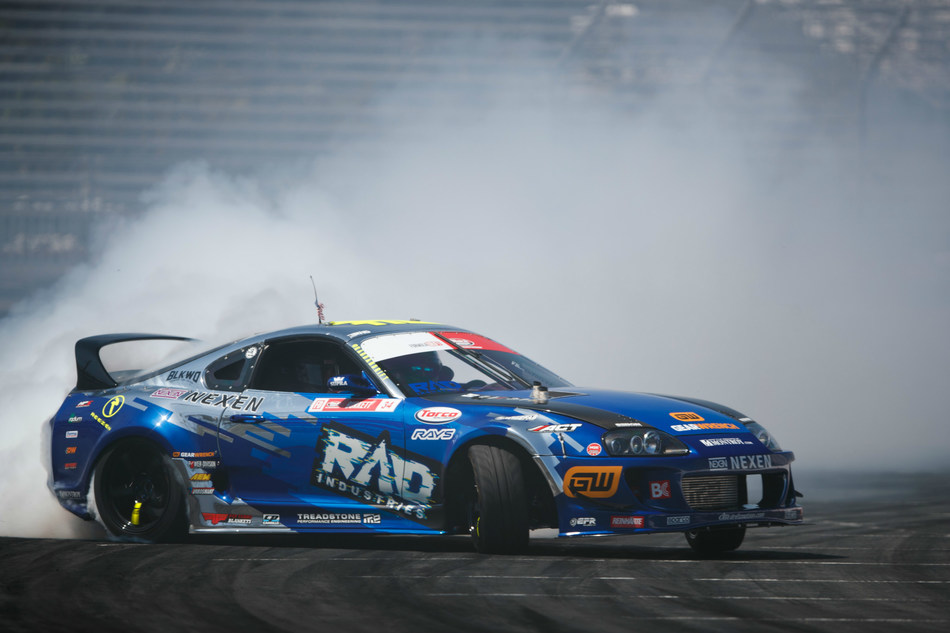 """As a premier tool brand for automotive mechanics, GEARWRENCH is now the official hand tool sponsor for veteran Formula Drift driver """"Rad"""" Dan Burkett. The partnership grows the brand's racing sponsorship portfolio that already includes teams from NASCAR and IndyCar."""