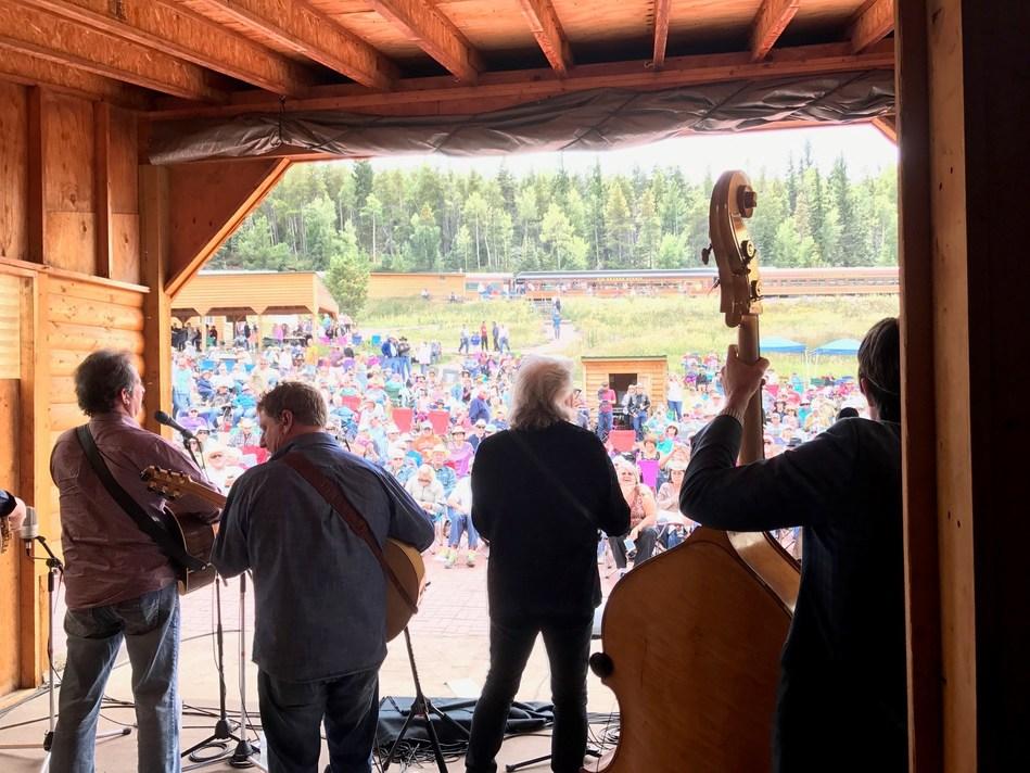 Performers at the Mountain Rails Live summer concert (PRNewsfoto/Rio Grande Scenic Railroad)